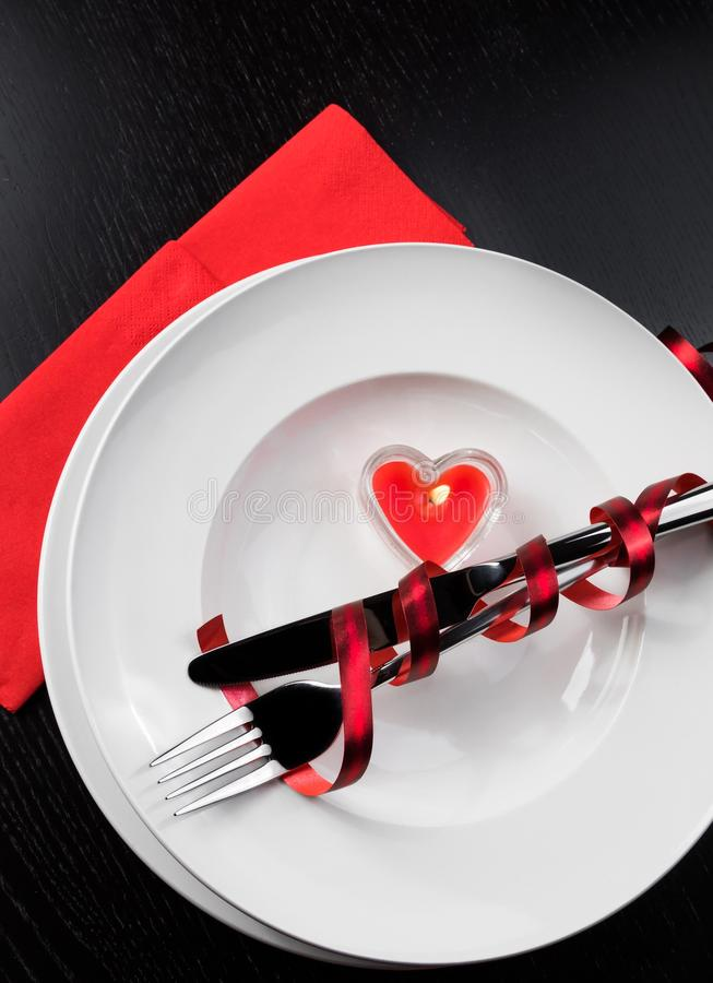 top-view-valentine-day-dinner-table-setting-red-elegant-heart-ornaments-restaurant-series-holiday-49